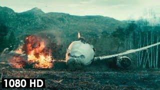 Самолёт падает на землю из-за зомби | Война миров Z (2013)