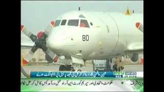 Pakistan Navy inducts another P-3C Orion long-range maritime patrol aircraft
