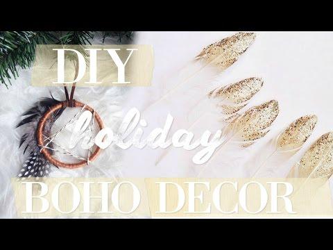 BOHO HOLIDAY DECOR DIY (EASY)