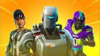 Fortnite - All v6.22 Skins | Back Blings | Hunting Party Skin | Emotes | NFL