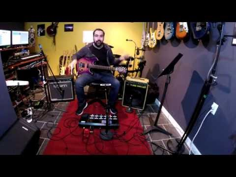 Using The Line 6 Helix with Amps and Pedals