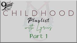 90's Kids Childhood Playlist w/ Lyrics Part 1 (Aaron Carter, Moffats, A1, Backstreet Boys, NSync)