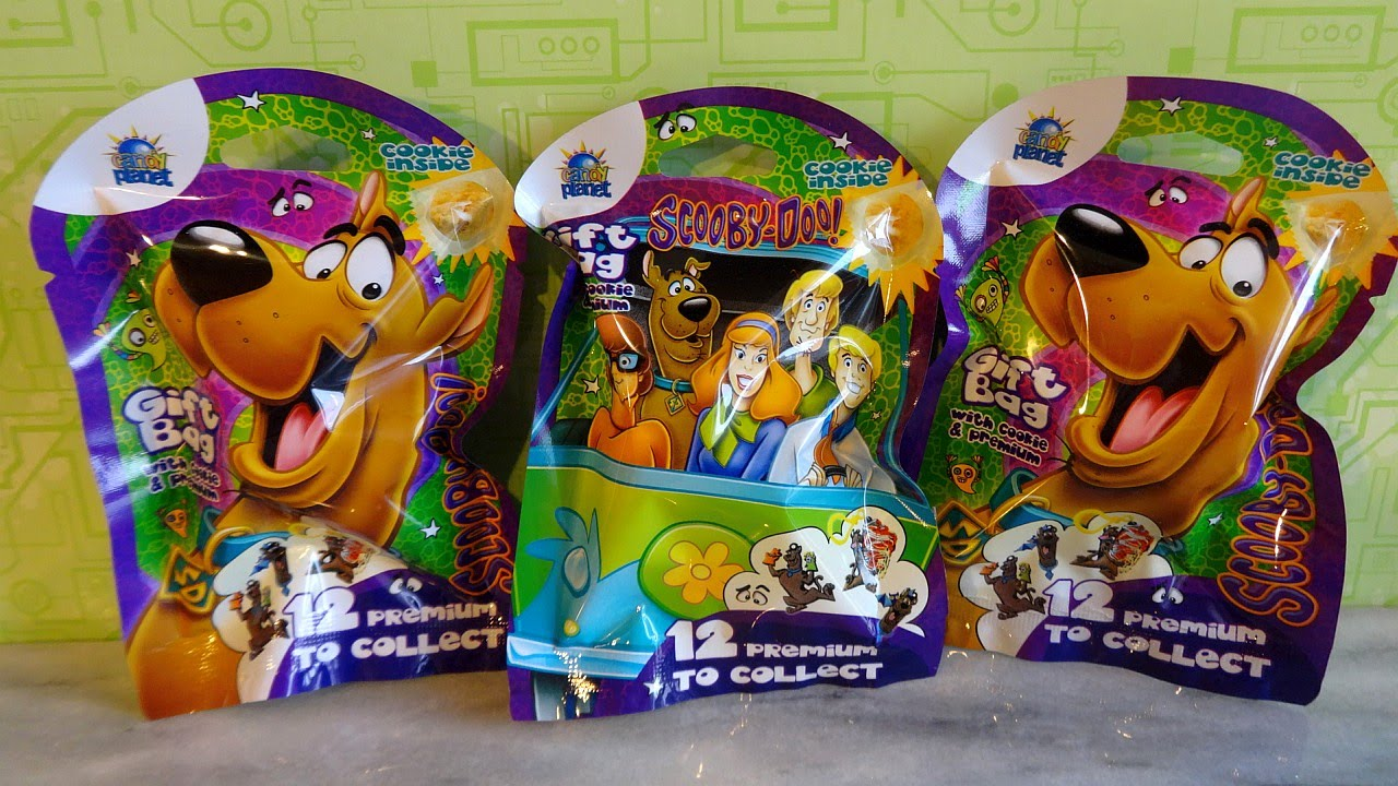 Best Scooby Doo Toys For Kids : Scooby doo mystery gift bag with surprise eggs toys cookie