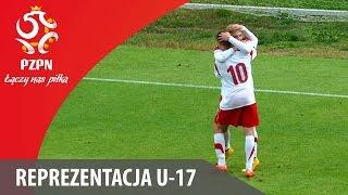 U-17: Bramki z meczu Polska - Liechtenstein 4:0