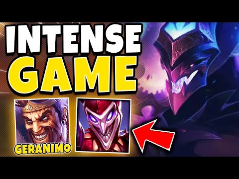 RANK 1 SHACO INTENSE CHALLENGER ELO GAME (DUO GERANIMO) - League Of Legends