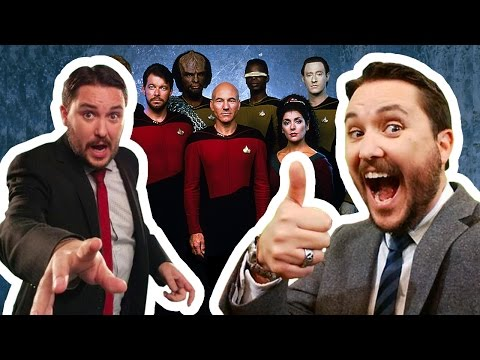 Wil Wheaton on leaving TNG, with entire cast, question from Aaron Douglas