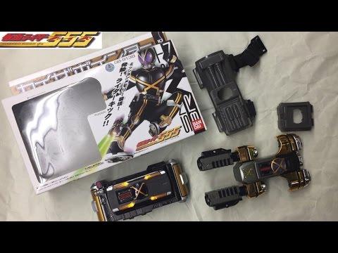 kamen rider faiz 10 kaixa pointer review henshin belt sb-913b