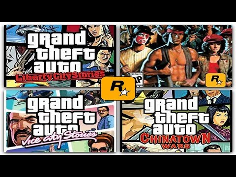 All Rockstar Games For PSP (PPSSPP)