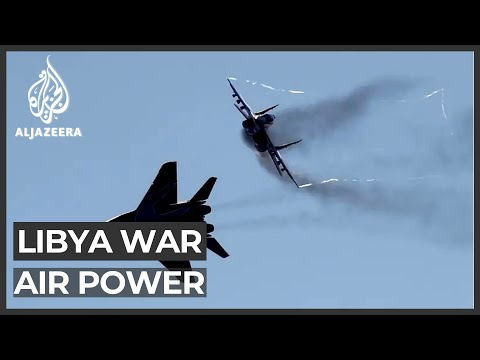 Libya's air war: Drones decisive in battle for Tripoli