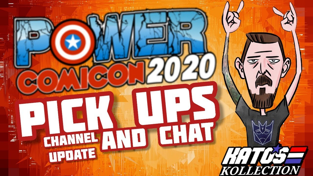 Power ComicCon 2020 Pick-ups and Chat By Kato's Kollection
