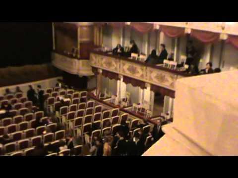 Малый театр, схема зала, 1 ярус балкона центр