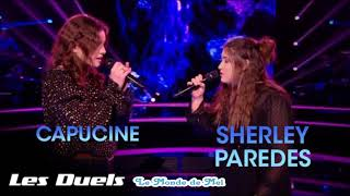 The Voice France : Capucine Vs Sherley Paredes ~ L' Amour En Solitaire [Audio] ♫ 💜