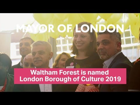 Waltham Forest named London Borough of Culture 2019