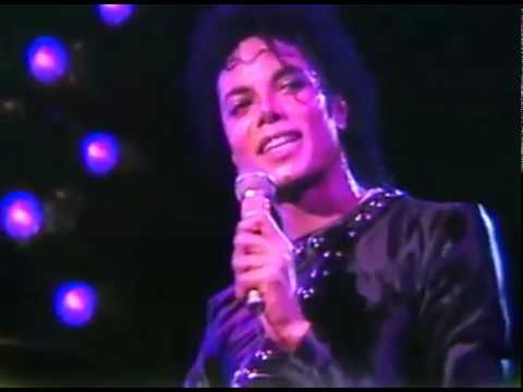 "Michael Jackson ""Human Nature"" Live BAD Tour Opening night Tokyo 1987"