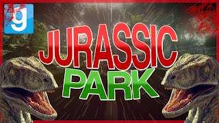 PLAY AS DINOSAURS IN GMOD! | Gmod Jurassic Park Mod | (Pill Pack Sandbox Funny Moments)