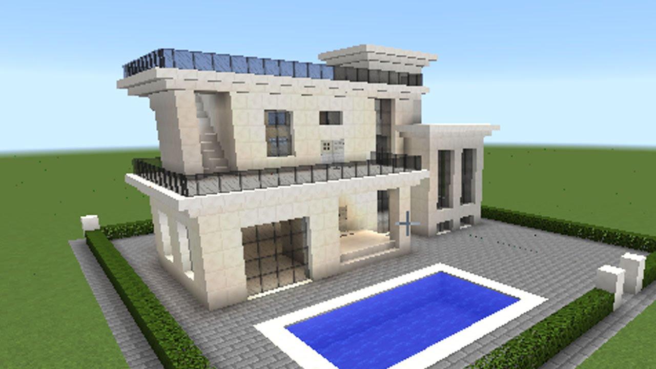マインクラフト家の作り方 \u201cこの春プール付きの家を作ろう!\u201d PART 2