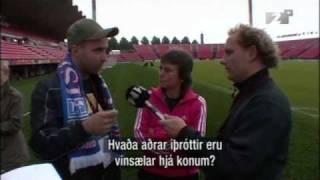 auddi og sveppi að taka viðtal við þjalfara þyskalands