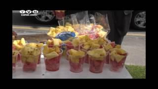 ARCSA realiza muestreo de jugos de naranja (Noticias Ecuador) 2017 Video