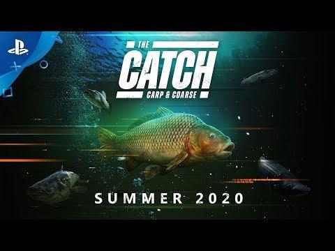 The Catch: Carp & Coarse | Announce Trailer | PS4