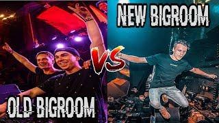 OLD BIGROOM VS NEW BIGROOM (Dimitri Vegas & Like Mike, Quintino, Hardwell, Blasterjaxx, ...