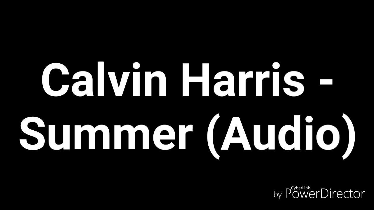 Calvin Harris Summer Audio Audiomastr 4u