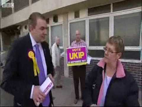 UKIP Yorkshire & The Humber - Launch Euro Election May 2009