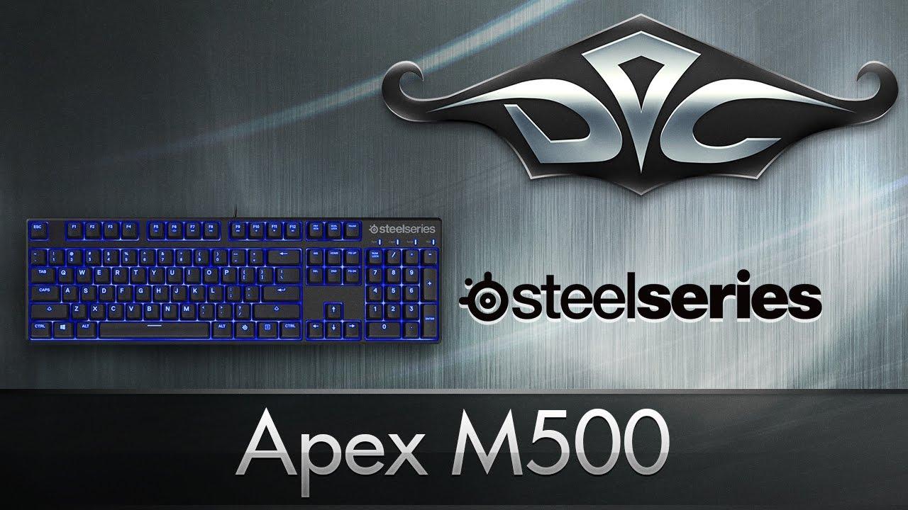Видео обзор игровой клавиатуры SteelSeries Apex M500