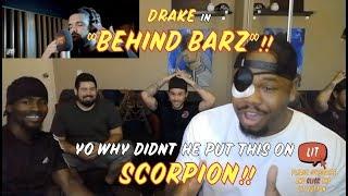 Drake - Behind Barz - Link Up TV (Thatfire Reaction)
