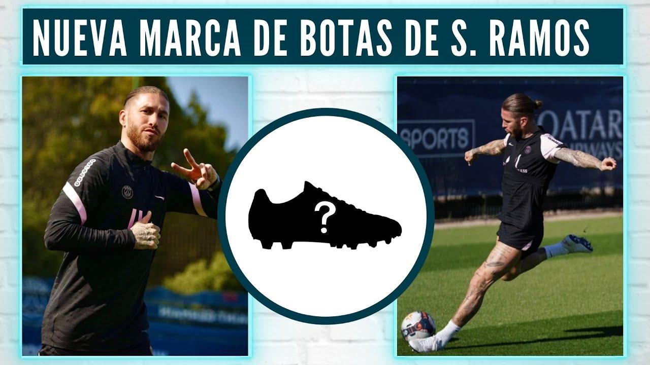 Download SERGIO RAMOS ENTRENA con NUEVA MARCA de BOTAS