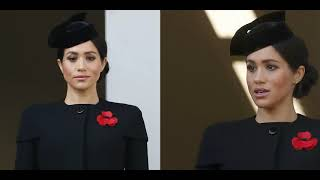 Meghan Markle attended her first Armistice Day at the Cenotaph