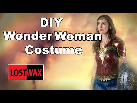 How To: No-sew Wonder Woman Costume | DIY from YouTube · Duration:  7 minutes 6 seconds