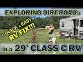 Adventures in RV Living: Narrow Dirt Roads, Old Stuff and More!
