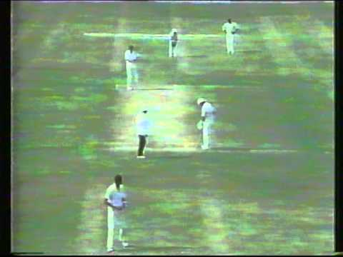 Cricket : England v West Indies (Gujranwala) - 1st group match World Cup 1987