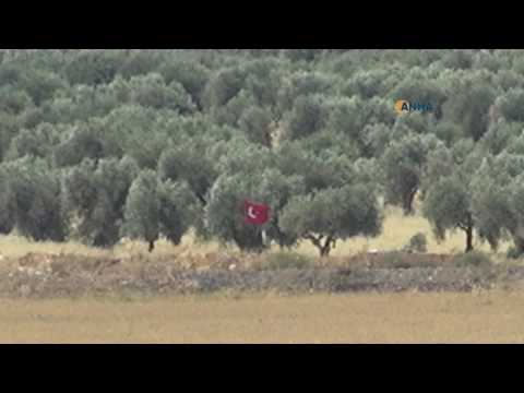 Video shows Turkish flag raised in Azaz