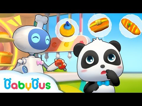 Bread Robot Vending Machine | Donuts Song, Candy Song | Learn Colors | Baby Song | BabyBus