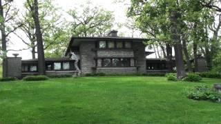 Frank lloyd Wright In Beverly Pt.2, The Raymond  W. Evans Home