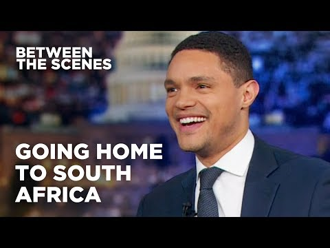 Going Home to South Africa - Between the Scenes | The Daily