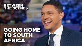 Trevor talks about his trip home to South Africa and his surprise meeting with President Cyril Ramaphosa. Subscribe to The Daily Show: ...