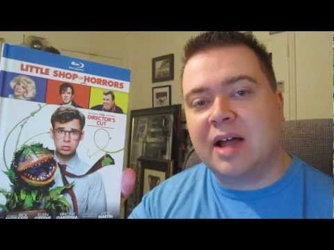 Little Shop Of Horrors Director's Cut Blu-Ray Digibook Unbox