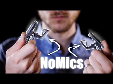 Softly Playing with NoMics with Soft whispering ASMR