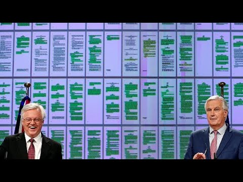 EU's Barnier and UK's Davis: terms for Brexit transition period agreed