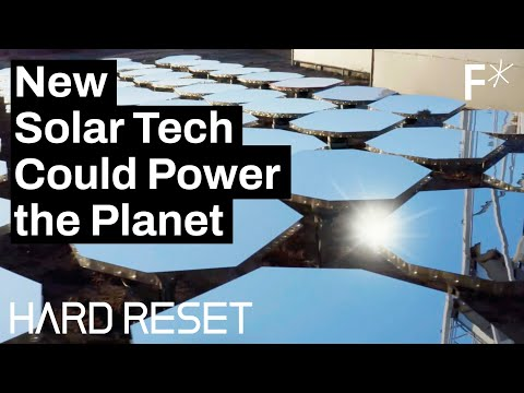 How mirrors could power the planet... and prevent wars