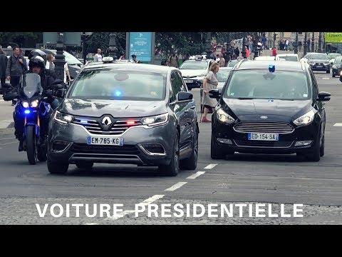 Voiture présidentielle blindée (nouvelle)  // Armored French President's Car