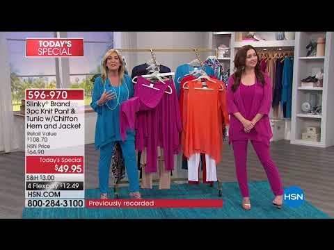 HSN | Slinky Brand Fashions Anniversary 05.11.2018 - 06 AM