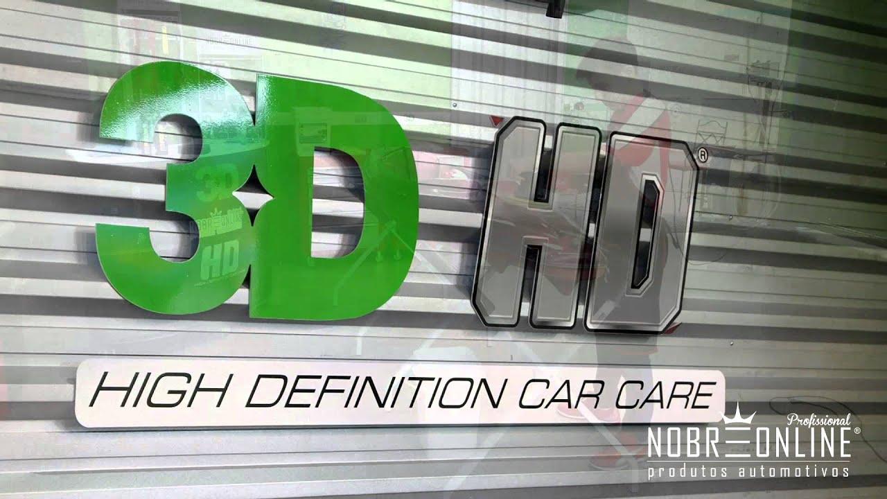 Polimento Profissional E Exclusivo 3d Hd High Definition Car