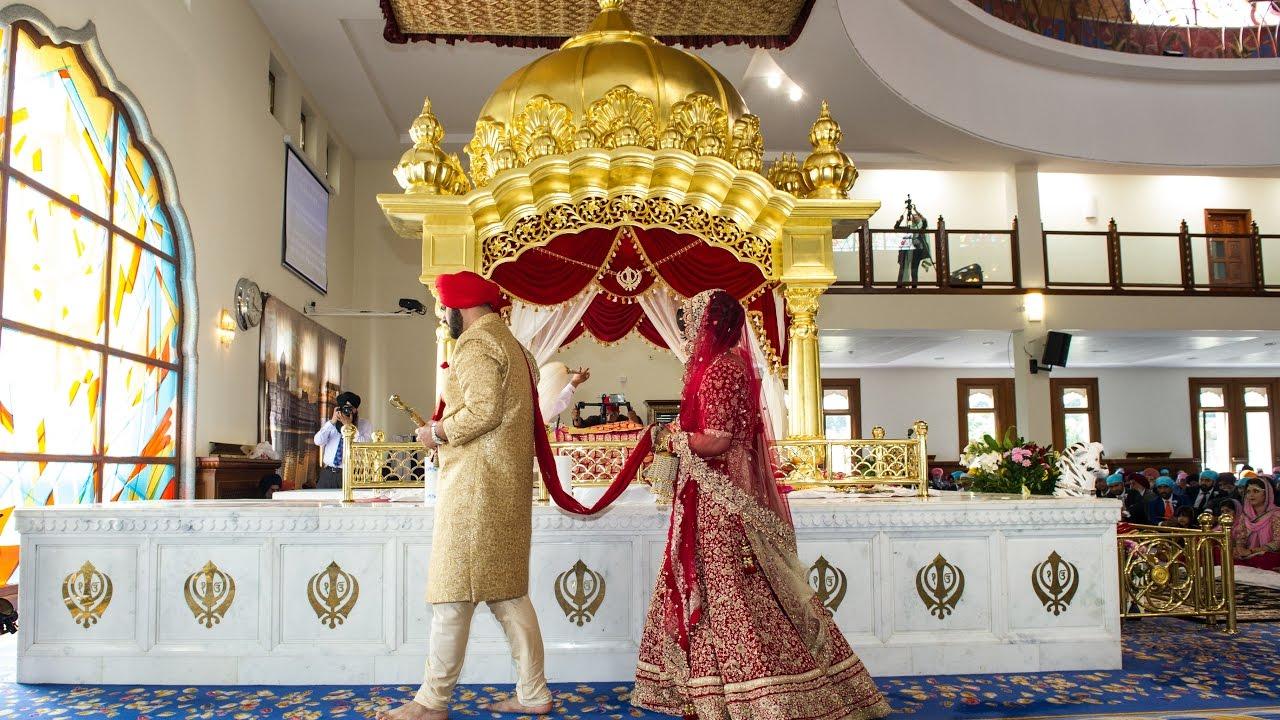 Largest Sikh Temple in Europe Guru Nanak Darbar Gurdwara Gravesend  Varinder  Gurjit in 4K