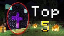 Top 5 MINECRAFT 3:00 AM SCARY SIGHTINGS!