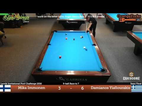 Mika Immonen Drops 4 Perfect Shots In The Same Corner