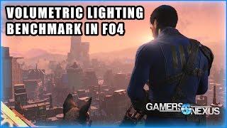 Fallout 4 Volumetric Lighting Benchmark - AMD NVidia