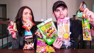 EATING $50 OF THAILAND TREATS | Brodie & Kelsey